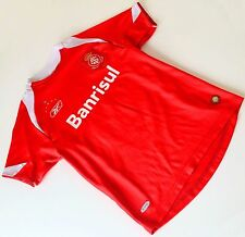Boys Red Banrisul Tramontina Football Top T Shirt 8-9 years Reebok International