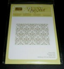 New listing Stampin' Up Lacy Brocade Textured Impressions Embossing Folder ~ Vintage Texture