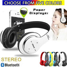 Wireless Bluetooth 5.0 Headphones Noise Cancelling Over-Ear Stereo Earphones Tws