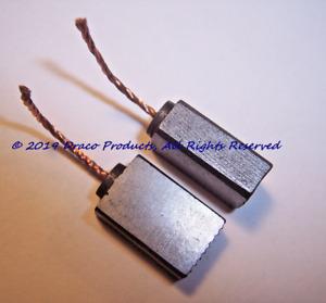 Black & Decker LH4500 Leaf Hog® Blower 12 amp Motor Replacement Carbon Brush Set