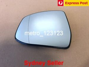 LEFT PASSENGER SIDE FORD MONDEO 2008 - 2015 MIRROR GLASS WITH BACK PLATE