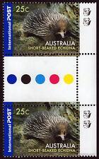 2006 Short Beaked Echidna 2nd Reprint Gutter Pair MUH Mint Stamps Australia #1