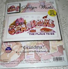 Design Works Counted Cross Stitch Kit Grandma