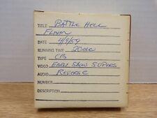Battle Hell 1957 Richard Todd 20 Second 16mm B&W TV Promo 022321DBT2