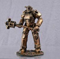 Mädchen mit einem Hund Modell 54mm Kupfer Figur Fallout TIN SOLDIER 1:32 Gm-9