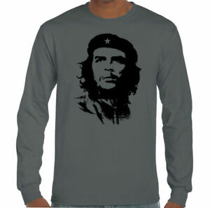 Che Guevara Face Silhouette - Mens Iconic T-Shirt Freedom Fighter Cuba