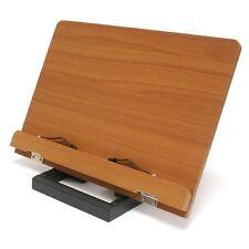 WIZTEM Jasmine Book Stand (WIZ-JAS) Portable Wooden Reading Holder Desk US ship