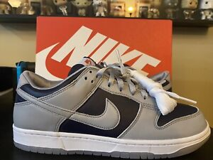 Nike Dunk Low Women's size 11.5 SNKRS In Hand (2021) College Navy Men's size 10