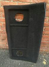 VOLKSWAGEN GOLF MK2 PARCEL SHELF IN BLACK GENUINE WITH ROUND SPEAKER HOLES