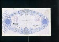 France 500 francs 1939  -  VF