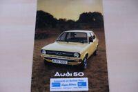 218909) Audi 50 Prospekt 08/1975