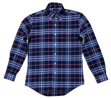 Ralph Lauren Men's Classic Fit Tartan Check Shirt In Blue/Navy/Red