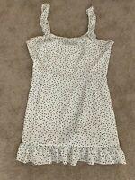 Showpo Womens Dress Size 20 Black & White Polka Dot Nice Summer Dress