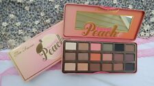 Too Faced sweet Peach Eye Shadow Collection Palette 18 Colors  USA seller