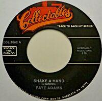 "Faye Adams Shake a Hand Jimmy McGriff I've Got a Woman NICE Hits 45 7"" Vinyl"