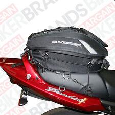 Bagster Spider Rear Tail Pack / Seat Bag / Helmet bag - expands 15ltr - 23ltr