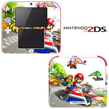 Vinyl Skin Decal Cover for Nintendo 2DS - Super Mario Kart