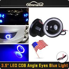 "2x 3.5"" COB LED Fog Light Projector Car Angel Eye Halo Ring DRL Lamp ATV SUV New"