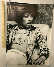 HUGE SUBWAY POSTER Jimi Hendrix Hollywood 1967 Henry Diltz CORBIS Purple Haze