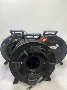 BNC cable drum job lot of 3 - 2 x 75m 1 x 80m