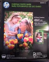 HP Everyday Glossy Photo Inkjet Paper 8.5 x 11 50 sheets Q8723A NEW SEALED