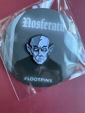 LootCrate Nosferatu Pin Vampire Dracula Exclusive Loot Crate Collectible Pin