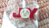 Special Olympics JOY lapel pin pre-owned