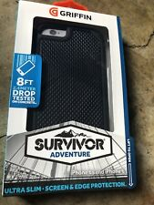 Griffin Survivor Adventure iPhone 6  & iPhone 6s Rugged Case - Black