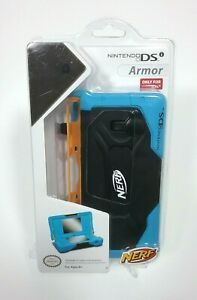 Nerf Armor Foam Protective Case Nintendo DS Blue and Black New In Box