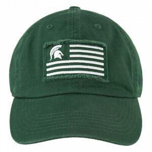 Michigan State Spartans Hat Cap Adjustable Strap One Size Fits Most Brand New