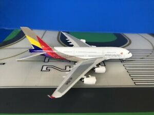 Asiana Airbus A380-800 HL7641 1/400 scale diecast Phoenix Models