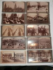 10 STEREOGRAPH PHOTOS FROM ACROSS EUROPE