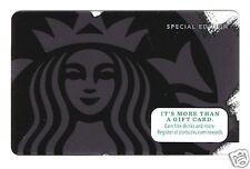 Starbucks Card Siren (Special Edition Two Versions 2014 DARK & 2015 LIGHT )