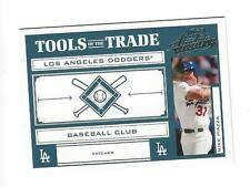 2004 ABSOLUTE TOOLS OF THE TRADE GREEN MIKE PIAZZA #d 006/150 DODGERS