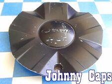 COBALT Wheels [42] PAINTED BLACK Center Caps # STW-188-1 Custom Wheel Cap (1)