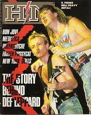 rivista - H/M HEAVY METAL - Anno III Numero 41