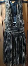 Topshop, gold dress, size 8, ideal for parties