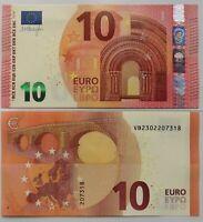 ESPAÑA SPAIN  10 euro de 2014, P-21v, serie VB, firma Draghi. Plancha UNC.