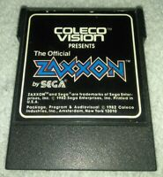 The Official Zaxxon By Sega  (Colecovision, 1982) CARTRIDGE ONLY