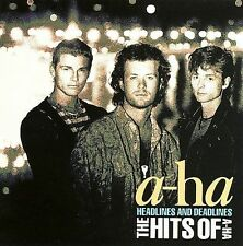 a-ha CD~Headlines and Deadlines: The Hits of a-ha -1991