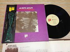 ALBERT AYLER-Witches & Devils  Rare Japan  LP w/OBI