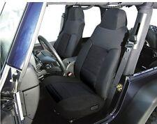 2003-2006 Jeep Wrangler Custom Neoprene Front and Rear Seat Covers Black