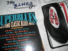 SUPERBLUES HOPKINS REED WOLF FACTORY 1990 STAX RECORDS LP + BONUS LP & T-SHIRT