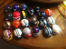 (42) MINI NFL HELMETS--PLASTIC--2 SIZES--GUMBALL PRIZE--COLLECT--FREE SHIP--VGC