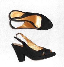 COLISEE DE SACHA sandales toile noire P 40 TBE