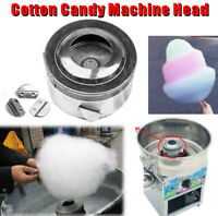 10.5x5.5cm Cotton Candy Machine Head Sugar Candy Floss For Cotton Maker Silver