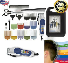 Professional Barber Set Shaver Clipper Trimmer Combo Wahl 20-Piece Hair Kit New