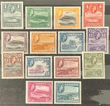 More details for antigua. definitive stamp set. sg121/34. (2 nov). 1956-62. mnh. #ets16.