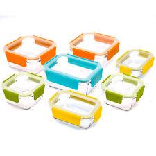 Glasslock Premium Food Storage Boxes With Lids 18 Piece Set