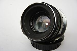 Helios 44-2  f/2/58mm Lens Canon EOS with confirmation chip,full CLA,Exellent++